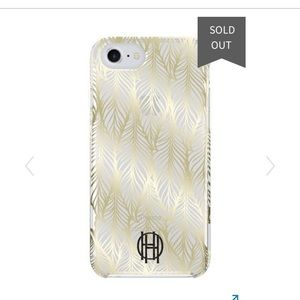 NWT House of Harlow 1960 Gold Printed Case, iPhone